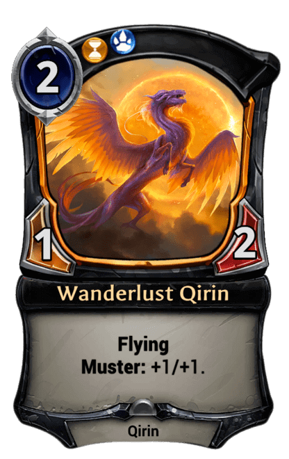 Card image for Wanderlust Qirin