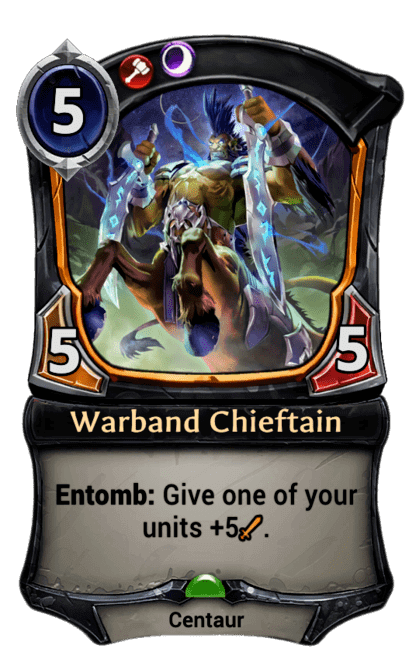 Card image for Warband Chieftain