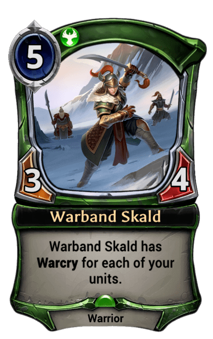 Card image for Warband Skald