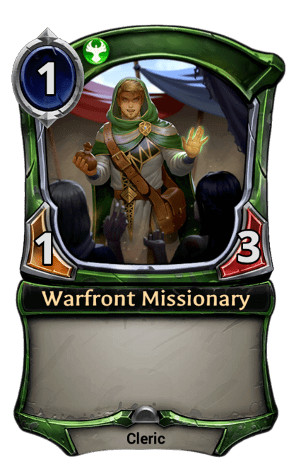 Card image for Warfront Missionary