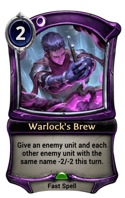 Card image for Warlock's Brew