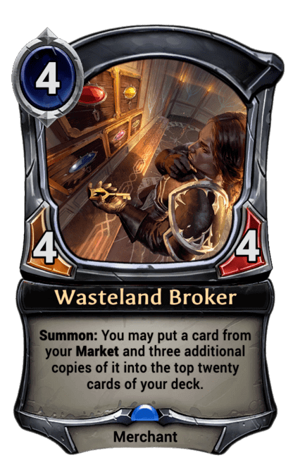 Card image for Wasteland Broker