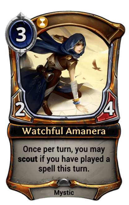 Card image for Watchful Amanera