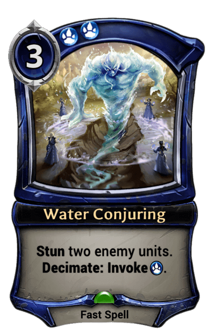 Card image for Water Conjuring