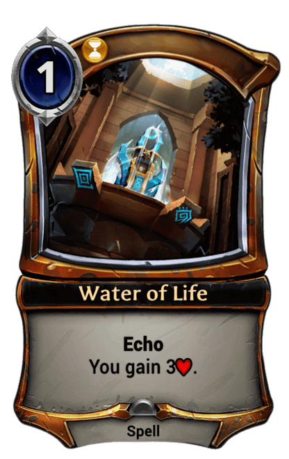 Card image for Water of Life