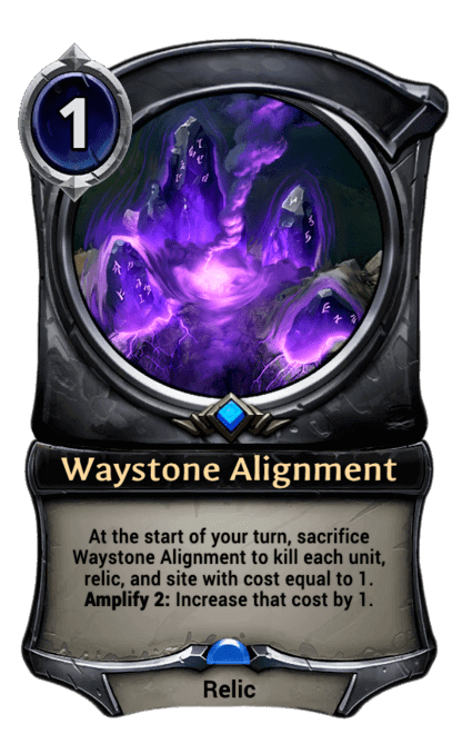 Card image for Waystone Alignment