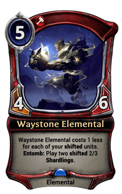 Card image for Waystone Elemental