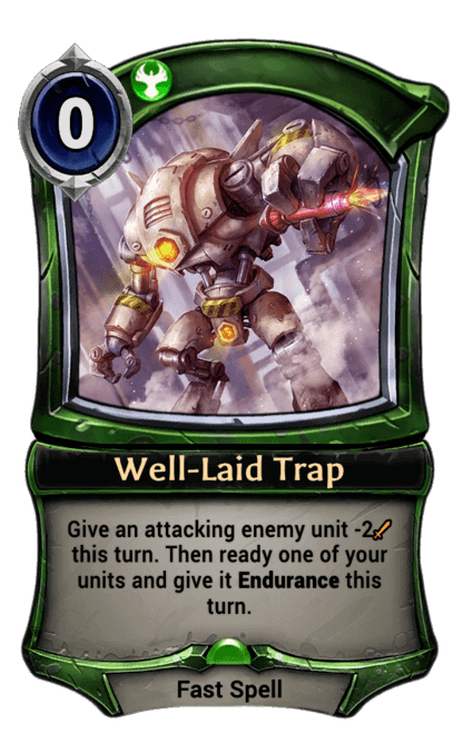 Card image for Well-Laid Trap