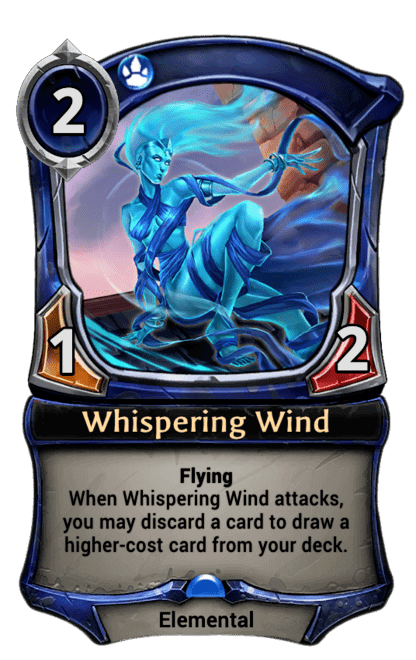 Card image for Whispering Wind