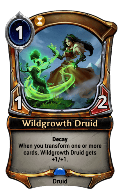 Card image for Wildgrowth Druid