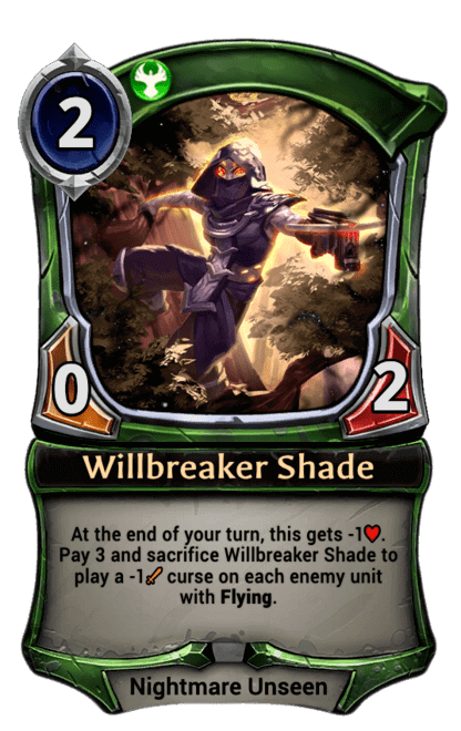 Card image for Willbreaker Shade