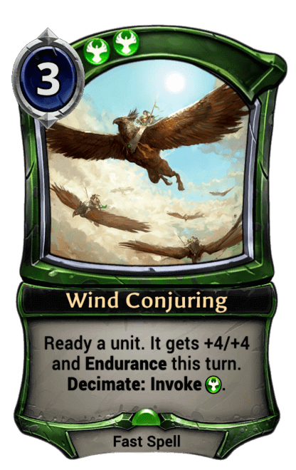 Card image for Wind Conjuring