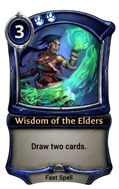Card image for Wisdom of the Elders