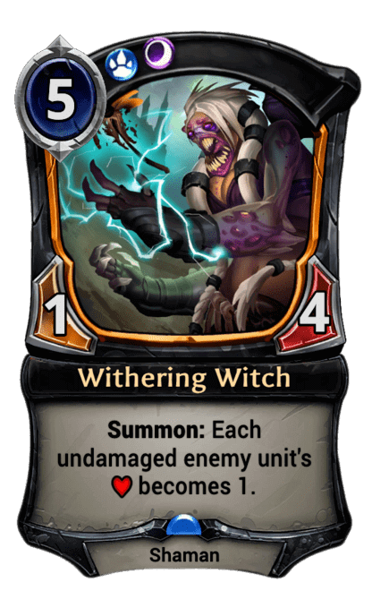 Card image for Withering Witch