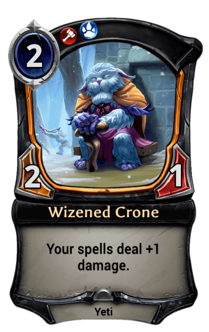 Card image for Wizened Crone