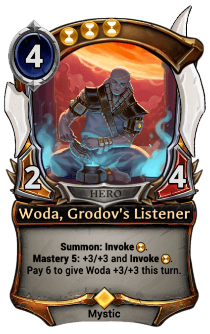 Card image for Woda, Grodov's Listener