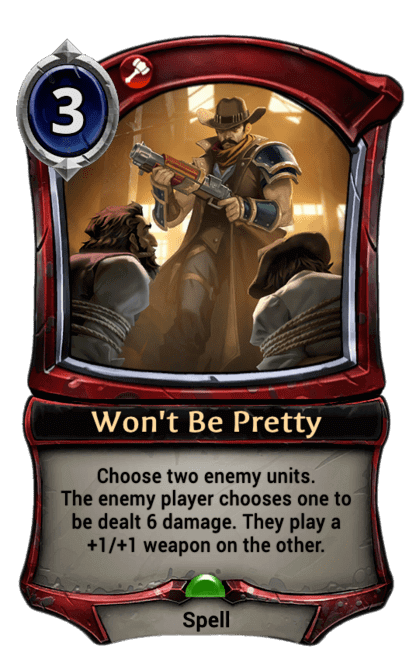 Card image for Won't Be Pretty