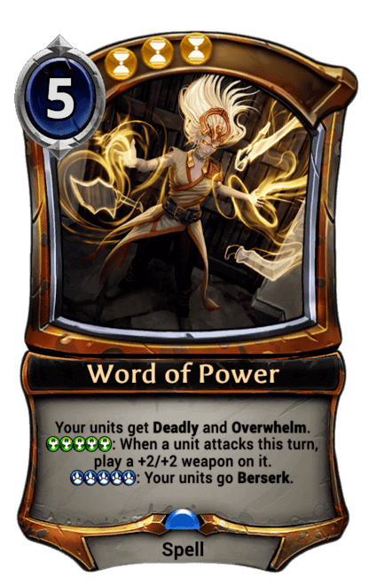 Card image for Word of Power
