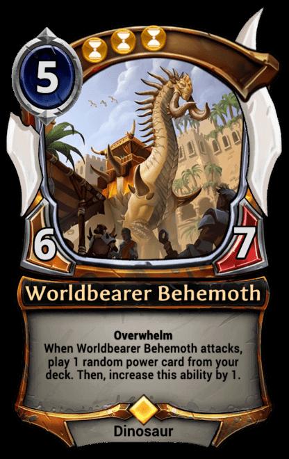Card image for Worldbearer Behemoth