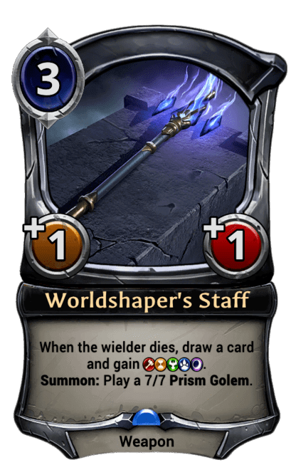 Card image for Worldshaper's Staff
