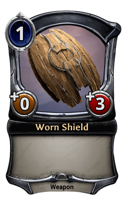 Card image for Worn Shield