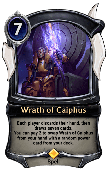 Card image for Wrath of Caiphus