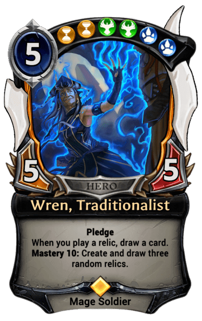 Card image for Wren, Traditionalist