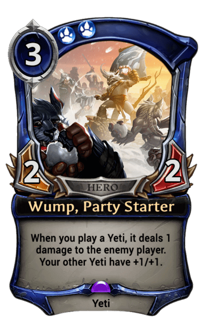Card image for Wump, Party Starter