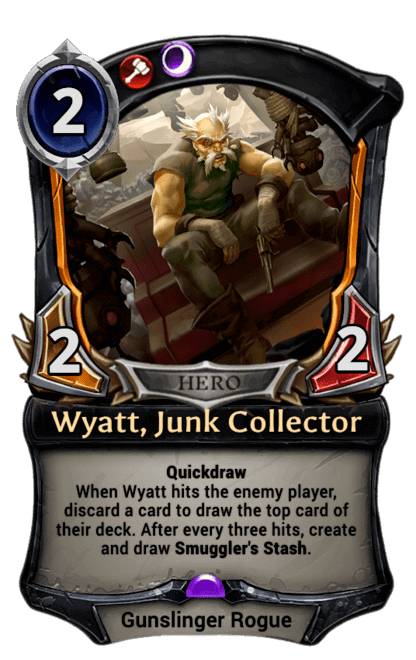 Card image for Wyatt, Junk Collector
