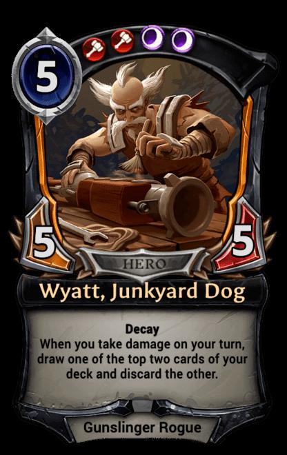 Card image for Wyatt, Junkyard Dog