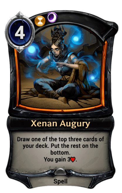 Card image for Xenan Augury