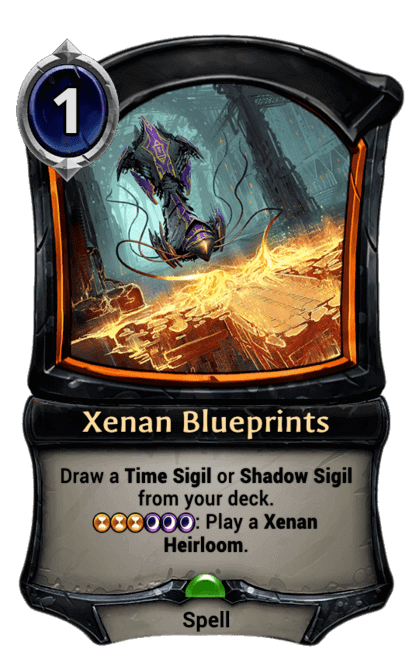 Card image for Xenan Blueprints
