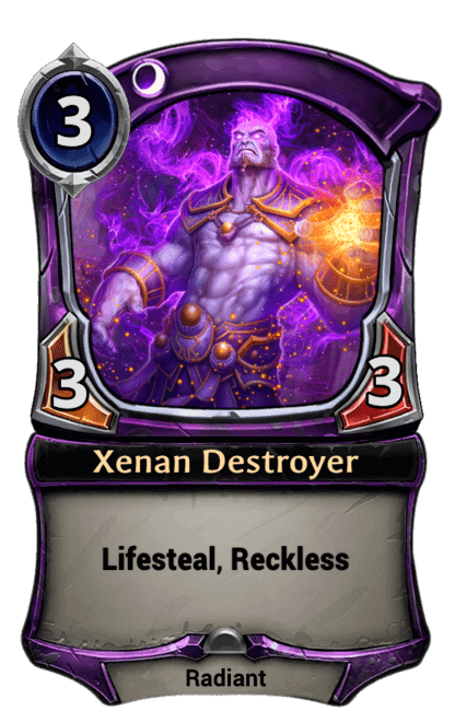 Card image for Xenan Destroyer
