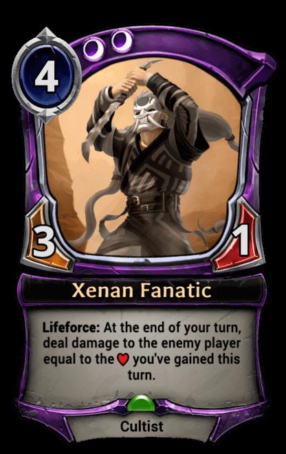 Card image for Xenan Fanatic