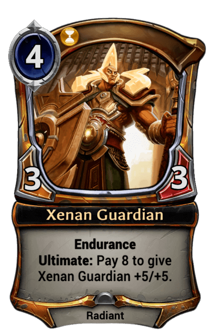 Card image for Xenan Guardian