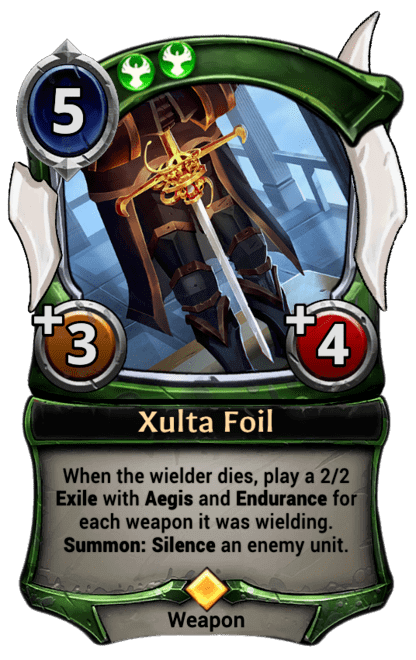 Card image for Xulta Foil