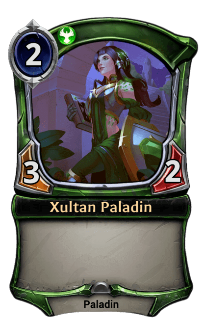 Card image for Xultan Paladin