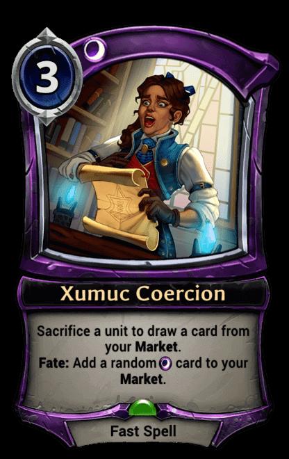 Card image for Xumuc Coercion