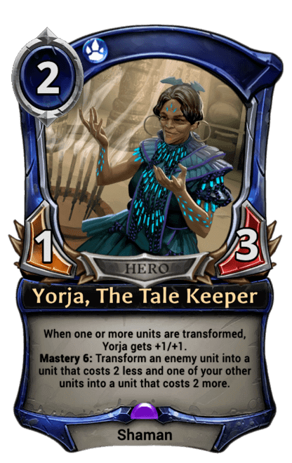 Card image for Yorja, The Tale Keeper