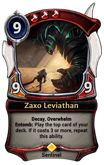 Card image for Zaxo Leviathan