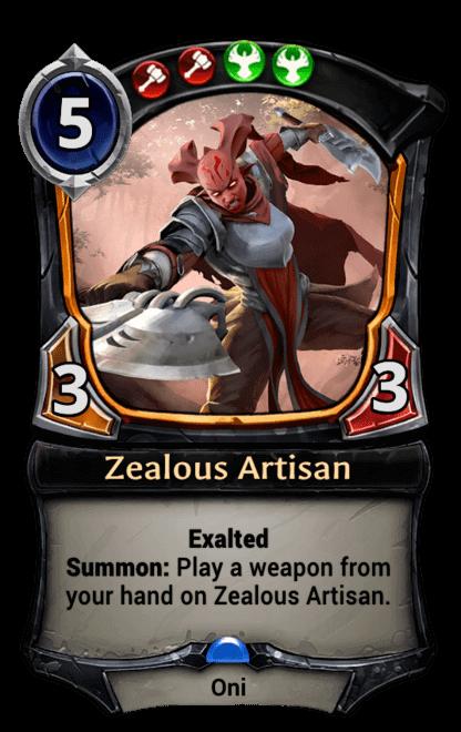 Card image for Zealous Artisan