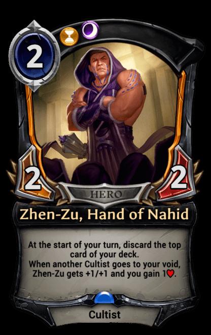 Card image for Zhen-Zu, Hand of Nahid