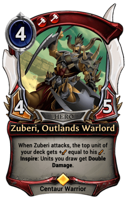 Card image for Zuberi, Outlands Warlord